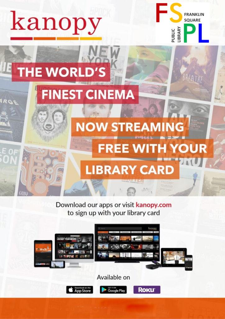 Kanopy – Streaming Movies